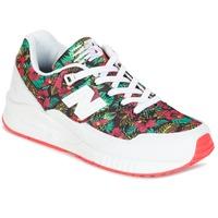 Schuhe Damen Sneaker Low New Balance W530 Grün / Rot