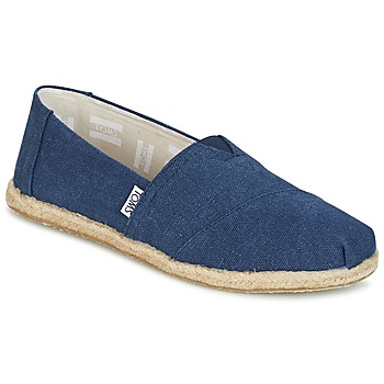 Schuhe Damen Slip on Toms SEASONAL CLASSICS Marine