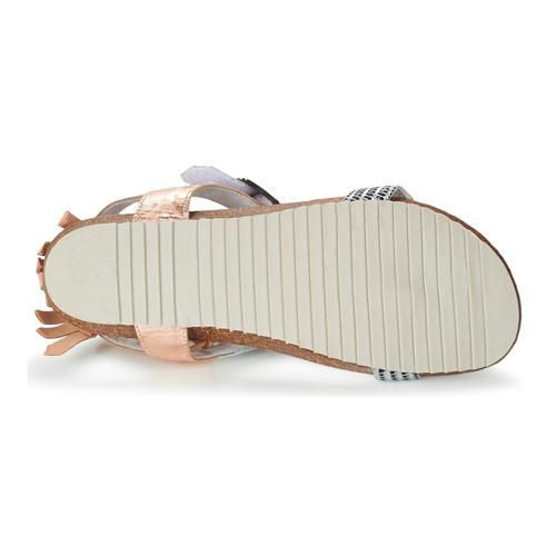 Regard RABALU Weiss Sandalen / Beige  Schuhe Sandalen Weiss / Sandaletten Damen 90 7d65c8