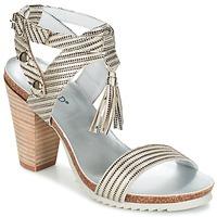 Schuhe Damen Sandalen / Sandaletten Regard RIKIL Silbern