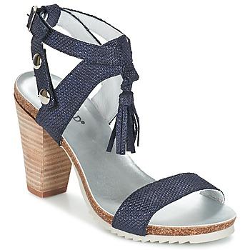 Schuhe Damen Sandalen / Sandaletten Regard RIKIL Blau