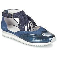 Schuhe Damen Ballerinas Regard RULAMI Blau