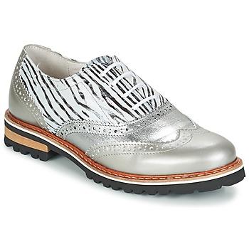 Schuhe Damen Derby-Schuhe Regard ROAXA Silbern