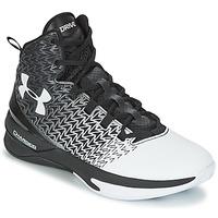 Schuhe Herren Basketballschuhe Under Armour UA ClutchFit Drive 3 Schwarz / Weiss