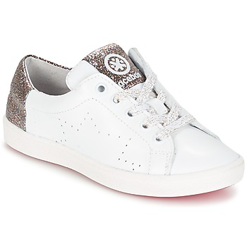 Schuhe Mädchen Sneaker Low Acebo's SOUDIN Weiss