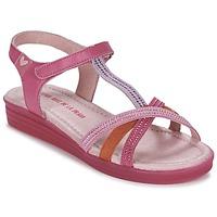 Schuhe Mädchen Sandalen / Sandaletten Agatha Ruiz de la Prada BINETTE Rose