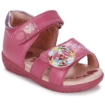 Schuhe Mädchen Sandalen / Sandaletten Agatha Ruiz de la Prada BOUTICHEK Rose