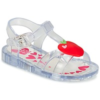 Schuhe Mädchen Sandalen / Sandaletten Agatha Ruiz de la Prada BOULINETTE Weiss