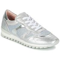 Schuhe Mädchen Sneaker Low Unisa DAYTONA Silbern