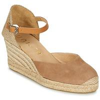 Schuhe Damen Sandalen / Sandaletten Unisa CACERES Braun