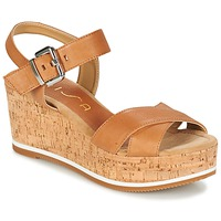 Schuhe Damen Sandalen / Sandaletten Unisa KARPI Beige