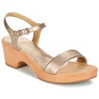 Schuhe Damen Sandalen / Sandaletten Unisa IRITA Gold