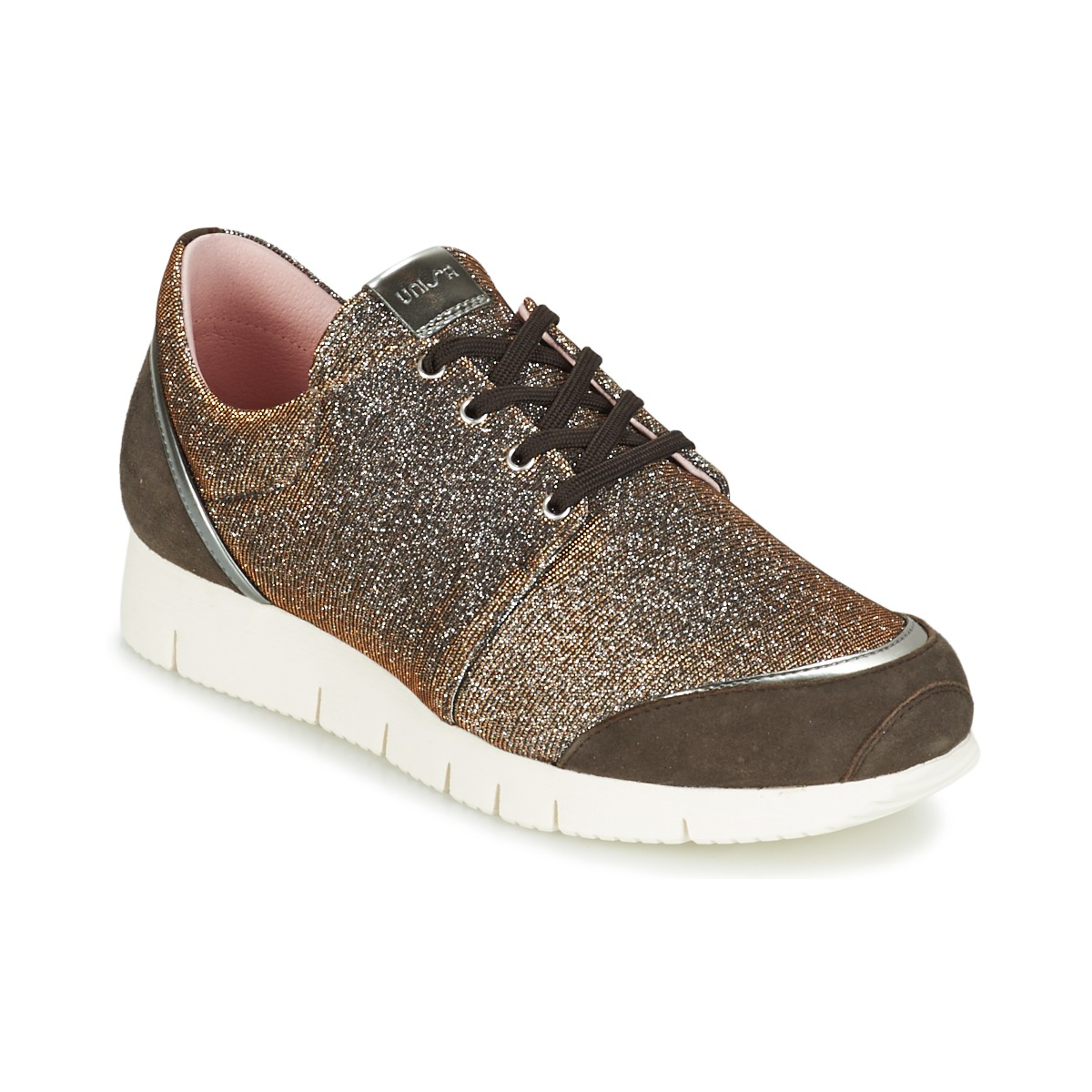 Unisa BOMBA Silbern - Kostenloser Versand bei Spartoode ! - Schuhe Sneaker Low Damen 65,90 €
