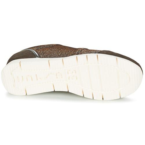 Unisa BOMBA Silbern Sneaker  Schuhe Sneaker Silbern Low Damen 55 6c6283