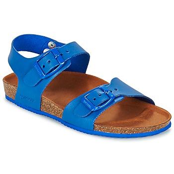 Schuhe Jungen Sandalen / Sandaletten Garvalin SOULI Blau