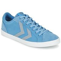 Schuhe Sneaker Low Hummel DEUCE COURT SUMMER Blau / Grau