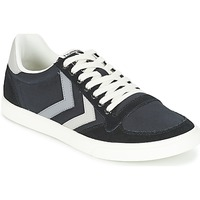Schuhe Sneaker Low Hummel TEN STAR DUO CANVAS LOW Schwarz / Grau