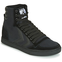 Schuhe Herren Sneaker High Hummel TEN STAR TONAL HIGH Schwarz
