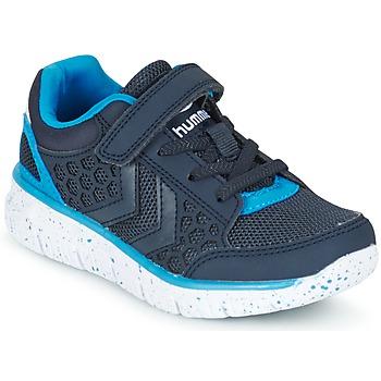 Schuhe Kinder Sneaker Low Hummel CROSSLITE JR Marine