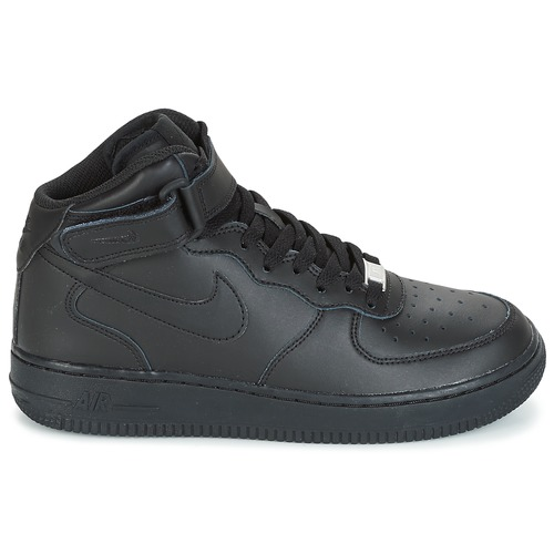Nike AIR FORCE 1 MID 06 JUNIOR Schwarz