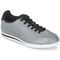 Schuhe Jungen Sneaker Low Nike CORTEZ PREMIUM JUNIOR Grau
