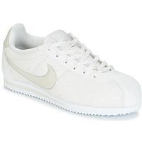 Schuhe Mädchen Sneaker Low Nike CORTEZ LEATHER SE JUNIOR Beige