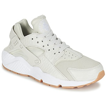 Schuhe Damen Sneaker Low Nike AIR HUARACHE RUN SE W Grau