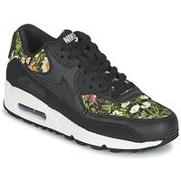 Schuhe Damen Sneaker Low Nike AIR MAX 90 SE W Schwarz
