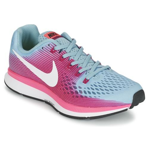 Nike AIR ZOOM PEGASUS 34 Blau - Schuhe Laufschuhe Damen 78,41