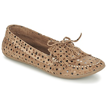 Schuhe Damen Slipper Ippon Vintage MOC POINTS Maulwurf