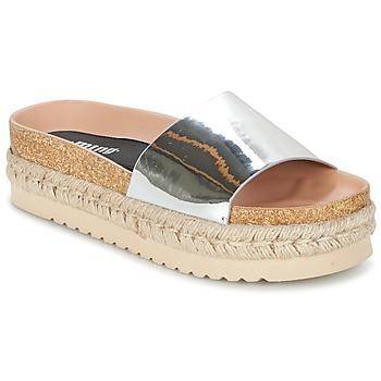Schuhe Damen Pantoffel MTNG MERCOL Silbern