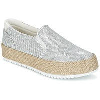 Schuhe Damen Slip on MTNG MAREN Silbern