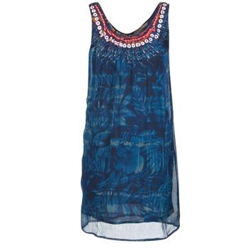 Kleidung Damen Kurze Kleider Desigual LIORISE Blau