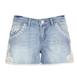 Kleidung Damen Shorts / Bermudas Desigual MARTES Blau
