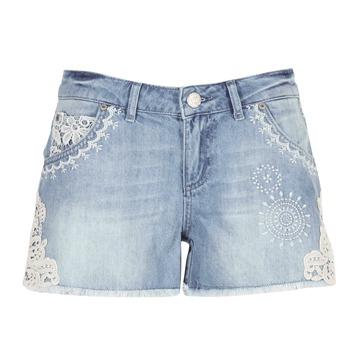 Kleidung Damen Shorts / Bermudas Desigual MARTESSA Blau