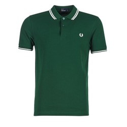 Kleidung Herren Polohemden Fred Perry TWIN TIPPED FRED PERRY SHIRT Grün