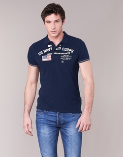 Kleidung Herren Polohemden Schott ALEC Marine