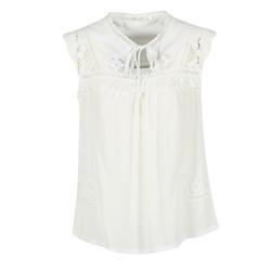 Kleidung Damen Tops / Blusen See U Soon 7116203 Weiss