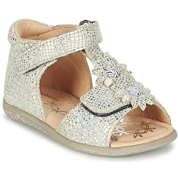 Schuhe Mädchen Sandalen / Sandaletten Babybotte TUTU Silbern