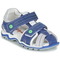 Schuhe Jungen Sandalen / Sandaletten Babybotte KARTER Blau / Grün / Grau