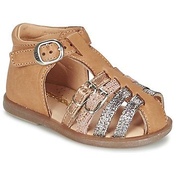 Schuhe Mädchen Ballerinas Babybotte TWIX Camel