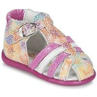 Schuhe Mädchen Sandalen / Sandaletten Babybotte GUPPY Rose / Multifarben