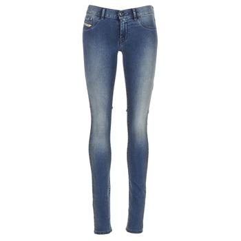Kleidung Damen Slim Fit Jeans Diesel LIVIER Blau
