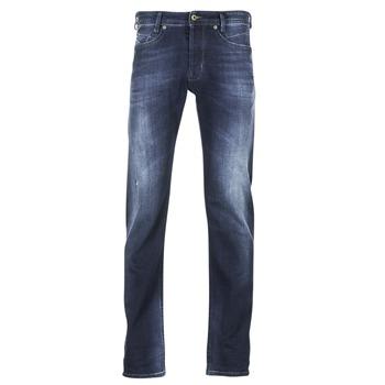 Kleidung Herren Slim Fit Jeans Diesel AKEE Blau