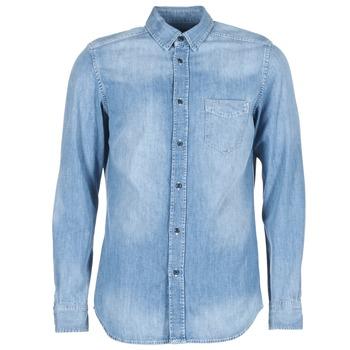 Kleidung Herren Langärmelige Hemden Diesel D CARRY Blau