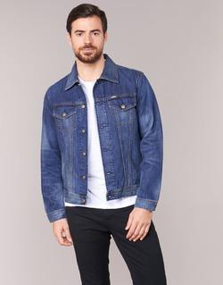 Kleidung Herren Jeansjacken Diesel NHILL Blau