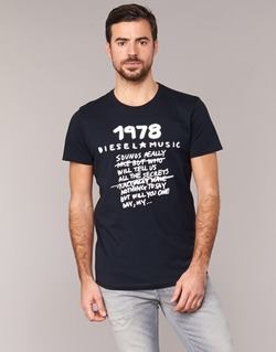 Kleidung Herren T-Shirts Diesel T DIEGO NB Schwarz