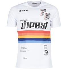 Kleidung Herren T-Shirts Diesel T JOE OB Weiss