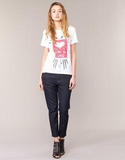 Kleidung Damen Boyfriend Jeans Diesel FAYZA EVO Blau