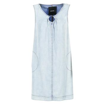 Kleidung Damen Kurze Kleider Diesel DE ISBEC Blau